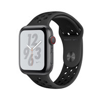 Apple Watch Series 4 Nike+ (GPS + Cellular) 44mm Space Gray Aluminum w. Anthracite/Black Nike Sport (MTXE2)