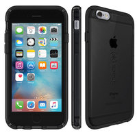 Чехол-накладка для iPhone 6/6s - Speck CandyShell Clear - Onyx Black (SP-73684-5446)