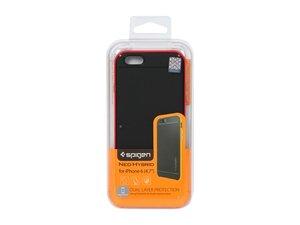 Чехол-накладка для iPhone 6/6s - SGP Neo Hybrid Carbon - Dante Red (SGP11623)