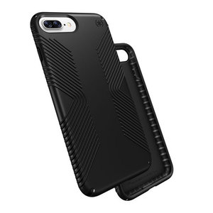 Чехол-накладка для iPhone 7 Plus/8 Plus - Speck Presidio Grip - Black/Black (SP-79981-1050) - фото 2