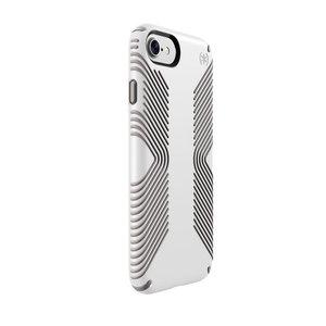 Чехол-накладка для iPhone 7/8 - Speck Presidio Grip - White/Ash Grey (SP-79987-5728)