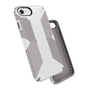 Чехол-накладка для iPhone 7/8/SE - Speck Presidio Grip - White/Ash Grey (SP-79987-5728) - фото 1