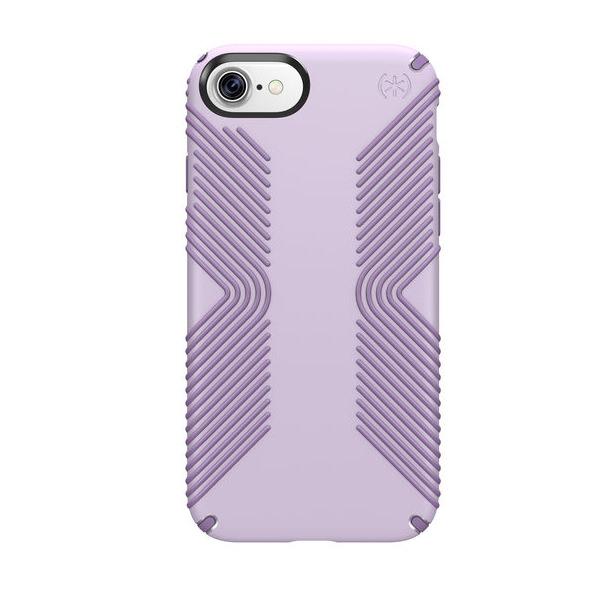 Чехол-накладка для iPhone 7/8 - Speck Presidio Grip - Whisper Purple/Lilac Purple (SP-79987-5734)