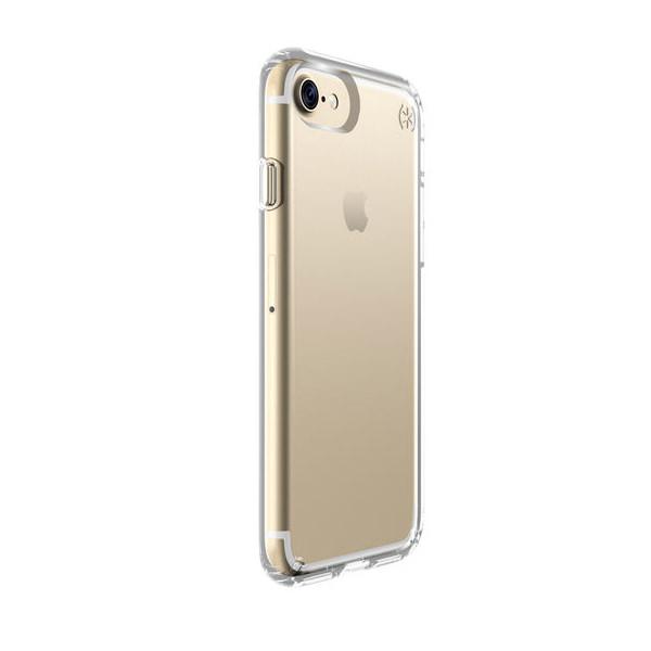 Чехол-накладка для iPhone 7/8/SE - Speck Presidio Clear - Transparent (SP-79988-5085)