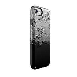 Чехол-накладка для iPhone 7/8/SE - Speck Presidio Inked - Darkmoon Black Metallic/Black (SP-79990-5756) - фото 1