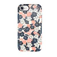 Чехол-накладка для iPhone 7/8 - Speck Presidio Inked - Marbledfloral Peach Mat/Marine (SP-79990-5760)