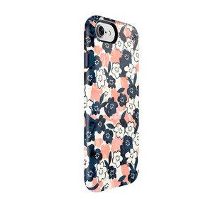 Чехол-накладка для iPhone 7/8/SE - Speck Presidio Inked - Marbledfloral Peach Mat/Marine (SP-79990-5760) - фото 2