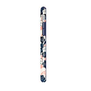 Чехол-накладка для iPhone 7/8/SE - Speck Presidio Inked - Marbledfloral Peach Mat/Marine (SP-79990-5760) - фото 3