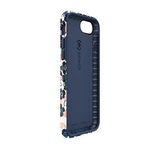 Чехол-накладка для iPhone 7/8/SE - Speck Presidio Inked - Marbledfloral Peach Mat/Marine (SP-79990-5760) - фото 4