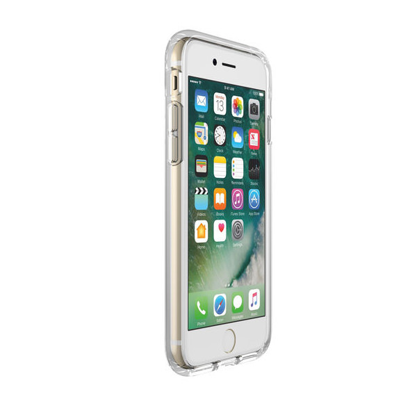 Чехол-накладка для iPhone 7/8/SE - Speck Presidio Clear - Etcheddot Silver/Clear (SP-79991-5752)