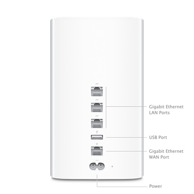 Беспроводной маршрутизатор Apple AirPort Time Capsule 2TB (ME177)