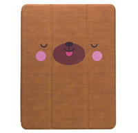 "Чехол для iPad 9.7"" [2017-2018] - Devia Kowa Case with Pen Holder Series - Brown"
