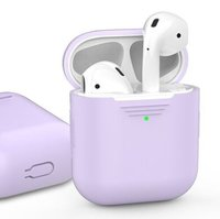 Чехол для Apple AirPods AHASTYLE Silicone Case for Apple AirPods - Lavender (AHA-01020-LVR)