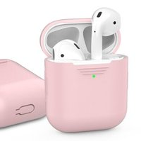 Чехол для Apple AirPods AHASTYLE Silicone Case for Apple AirPods - Pink (AHA-01020-PNK)