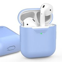 Чехол для Apple AirPods AHASTYLE Silicone Case for Apple AirPods - Sky Blue (AHA-01020-SBL)