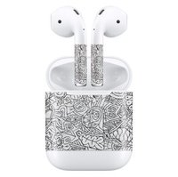 Наклейки для AirPods AHASTYLE Stickers for Apple AirPods - Graphics (AHA-01130-GCS)