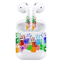Наклейки для AirPods AHASTYLE Stickers for Apple AirPods - Hands (AHA-01130-HND)