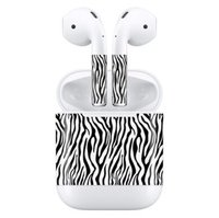 Наклейки для AirPods AHASTYLE Stickers for Apple AirPods - Zebra (AHA-01130-ZBR)