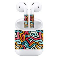 Наклейки для AirPods AHASTYLE Stickers for Apple AirPods - Zigzag (AHA-01130-ZGZ)