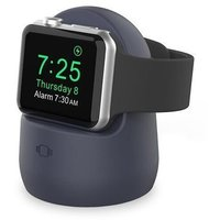 Аксессуар для Watch AHASTYLE Silicone Stand for Apple Watch - Navy Blue (AHA-01630-NBL)