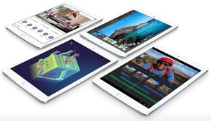 Apple iPad Air 2 Wi-Fi + LTE 128GB Silver (MH322, MGWM2)