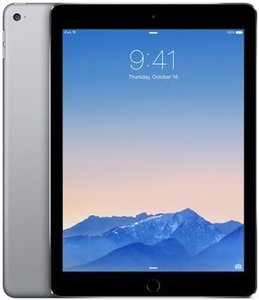Apple iPad Air 2 Wi-Fi 64Gb Space Gray (MGKL2)