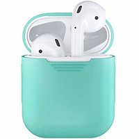Чехол Airpods Silicon case+straps green (in box) CASE_AIRPODS_MINT