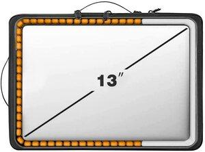 Сумка для MacBook 13.3 - WIWU Alpha Double Layer Sleeve - Black - фото 4