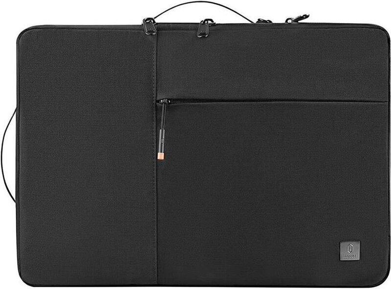 Сумка для MacBook 13.3 - WIWU Alpha Double Layer Sleeve - Black