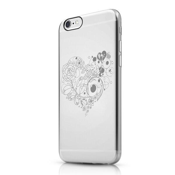 Чехол-накладка для iPhone 6 - ITSKINS Bling - Transparent (APH6-BLING-BLG2)
