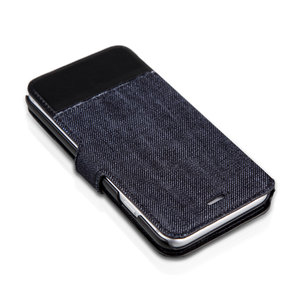 Чехол-книжка для iPhone 6 - ITSKINS Angel - Black/Blue (APH6-ANGEL-BKBL)