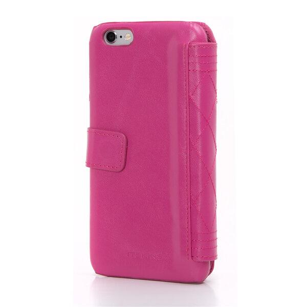 Чехол-книжка для iPhone 6 - ITSKINS Daytona - Pink (APH6-DYNTA-PINK)