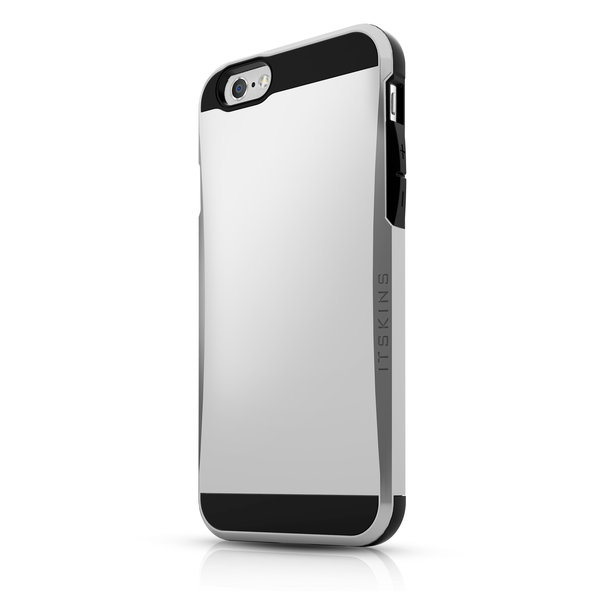 Чехол-накладка для iPhone 6 - ITSKINS Evolution - Dark Silver (APH6-EVLTN-DKSL)