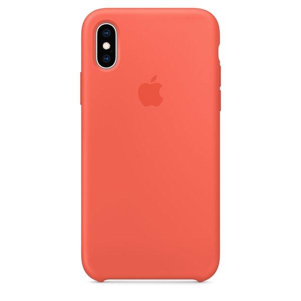 Чехол для iPhone Xr Silicone Case - Nectarine (DEMO_XR_NECTARINE)