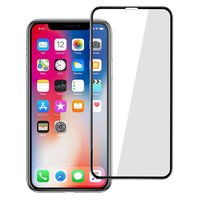 Защитное стекло Full Glass 5D для Apple iPhone Xr (Black) (Без Упаковки) (GLASS_XR)