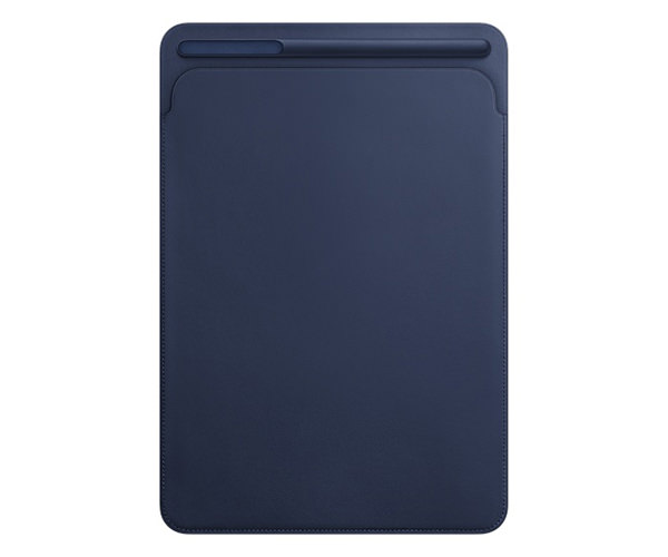 Чехол для планшета iPad Pro 10.5 - Apple Leather Sleeve - Midnight Blue (MPU22)