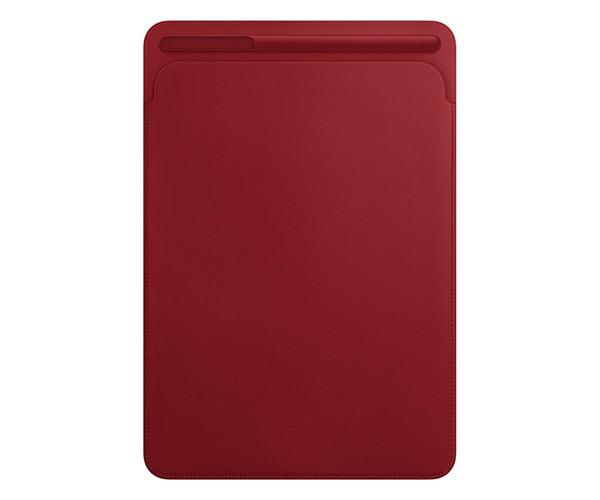 Чехол для планшета iPad Pro 10.5 - Apple Leather Sleeve - (PRODUCT)RED (MR5L2)
