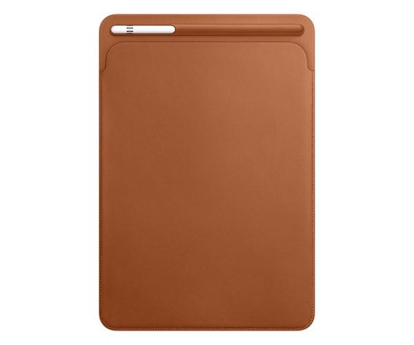Чехол для планшета iPad Pro 10.5 - Apple Leather Sleeve - Saddle Brown (MPU12)