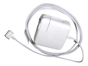 Сетевое зарядное устройство - Apple 60W MagSafe 2 Power Adapter (MD565) - фото 1