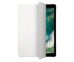 Чехол-подставка для iPad Pro 12.9 - Apple Smart Cover - White (MQ0H2) - фото 4