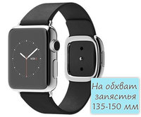Apple Watch 38mm Stainless Steel Modern Buckle Black (135-150mm) (MJYK2)