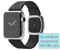 Apple Watch 38mm Stainless Steel Modern Buckle Black (160-180mm) (MJYM2)