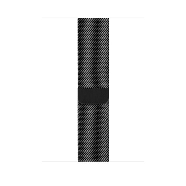 Apple Watch Series 4 (GPS+Cellular) 40mm Space Black Stainless Steel Case With Space Black Milanese Loop (MTUQ2)