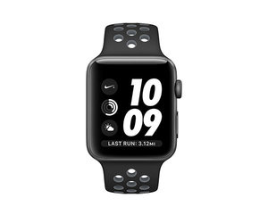 Apple Watch Nike+ 42mm Space Gray Aluminum Nike Sport Band Black/Cool Gray (140-210mm)(MNYY2)