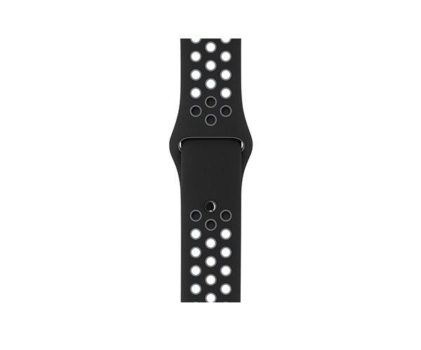 Apple Watch Nike+ 38mm Space Gray Aluminum Nike Sport Band (130-200mm)(MNYX2)