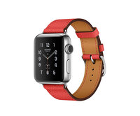 Apple Watch Series 2 38mm Stainless Steel Leather Single Tour Rose Jaipur Epsom (145-180mm)(MNQ62)