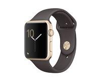 Apple Watch Series 2 42mm Gold Aluminum Sport Band Cocoa (140–210mm)(MNPN2)