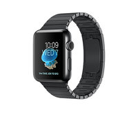 Apple Watch Series 2 42mm Space Black Stainless Steel Link Bracelet Space Black (140-205mm)(MNQ02)