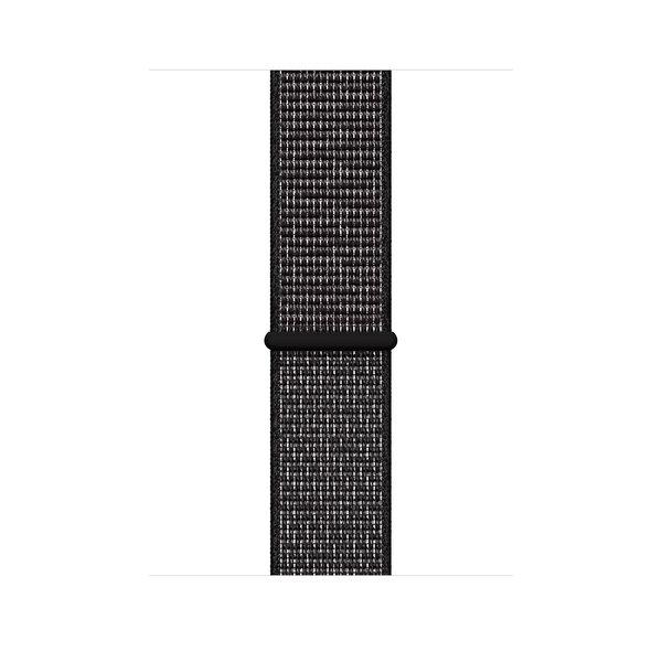 Apple Watch Series 4 Nike+ (GPS) 44mm Space Gray Aluminum Case with Black Nike Sport Loop (MU7J2)
