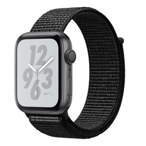 Apple Watch Series 4 Nike+ (GPS) 44mm Space Gray Aluminum w. Black Nike Sport L. (MU7J2)